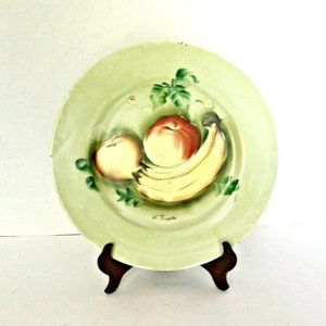Norleans Hand Painted Porcelain Fruit Wall Plate